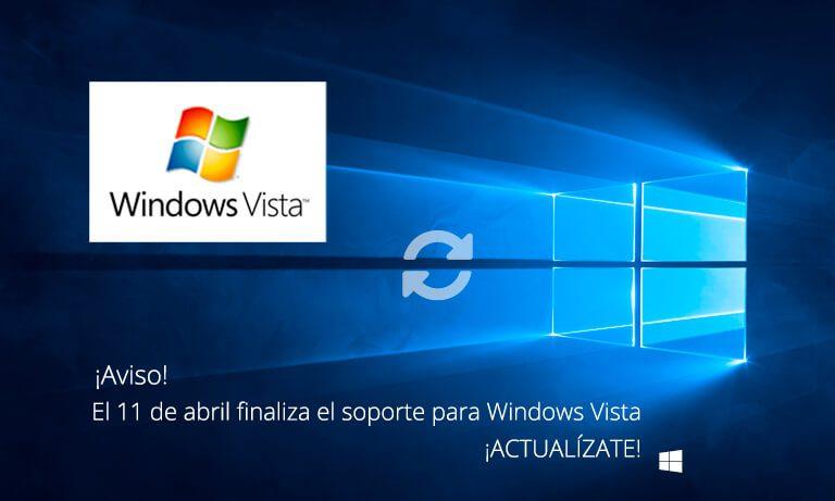Fin soporte Windows Vista