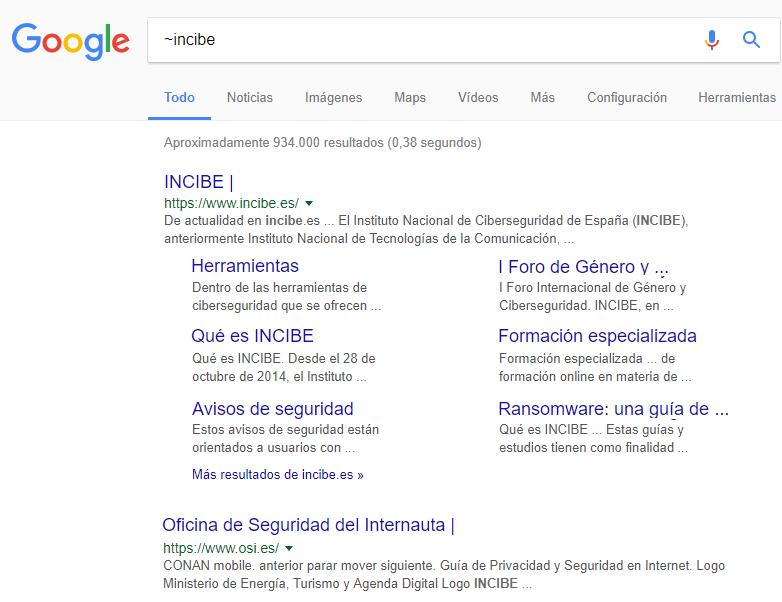 Similares en Google