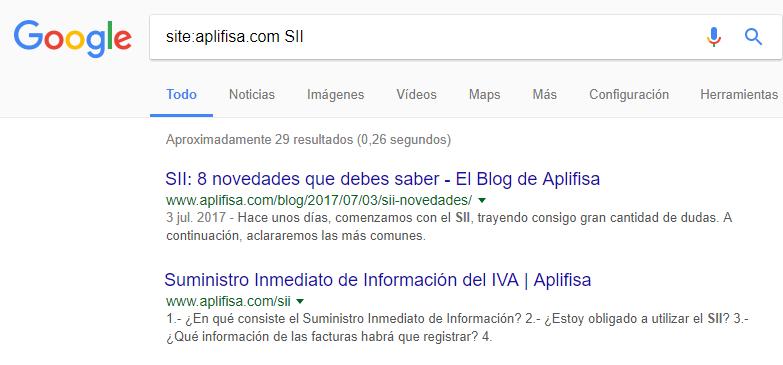 Web en Google