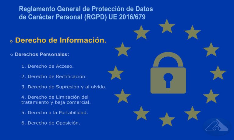 Derecho de Información en el nuevo RGPD